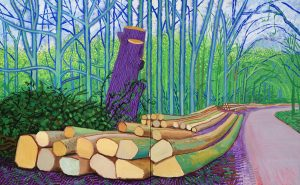 David Hockney at the Royal Academy of Arts: A Bigger Picture 2012 & 82 Portraits and One Still Life 2016