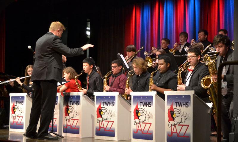 TWHS Jazz Band Concert